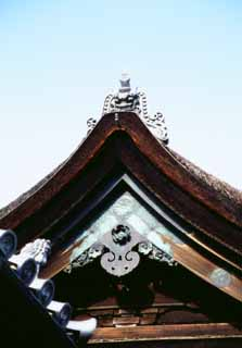 photo,material,free,landscape,picture,stock photo,Creative Commons,Ridge-end tile, Kiyomizu Temple, , ,
