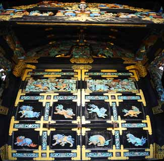 photo,material,free,landscape,picture,stock photo,Creative Commons,West Honganji Chinese-style gate, Honganji, Chaitya, sculpture, The day living bar exam