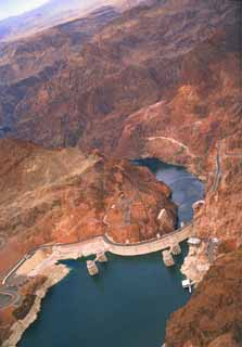 photo,material,free,landscape,picture,stock photo,Creative Commons,Hoover Dam 3, dam, lake, ,