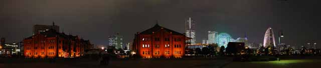 photo,material,free,landscape,picture,stock photo,Creative Commons,Yokohama red brick warehouse, brick warehouse, sightseeing spot, Waterfront, modernization industry inheritance