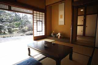photo,material,free,landscape,picture,stock photo,Creative Commons,Meiji-mura Village Museum Ougai Mori / Soseki Natsume house, building of the Meiji, The Westernization, Japanese-style house, Cultural heritage
