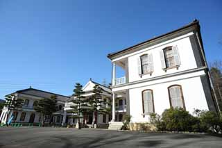 photo,material,free,landscape,picture,stock photo,Creative Commons,Meiji-mura Village Museum Mie Government building , building of the Meiji, The Westernization, Western-style building, Cultural heritage