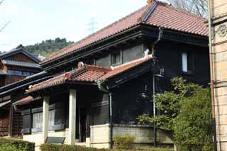 photo,material,free,landscape,picture,stock photo,Creative Commons,Meiji-mura Village Museum Yasuda bank Aizu Branch, building of the Meiji, The Westernization, Western-style building, Cultural heritage