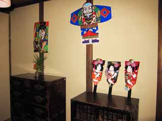 photo,material,free,landscape,picture,stock photo,Creative Commons,Meiji-mura Village Museum kite / a battledore, toy, decoration, I am Japanese-style, Cultural heritage