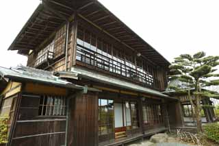 photo,material,free,landscape,picture,stock photo,Creative Commons,Meiji-mura Village Museum Kinmochi Saionji another house, building of the Meiji, The Westernization, Japanese-style building, Cultural heritage