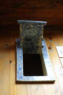 photo,material,free,landscape,picture,stock photo,Creative Commons,Meiji-mura Village Museum toilet stool, tool of the Meiji, The Westernization, Ceramics, Cultural heritage